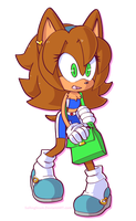 COM: Sonar the Long-Eared Hedgehog by SailingScum
