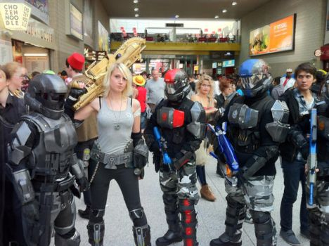 Anya Stroud and ODST Cosplay by Geek-Chic