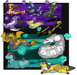 CCaves Dragons and Snakes OPEN by DEAFHPN