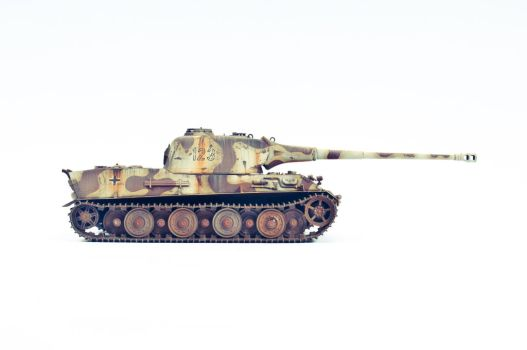 1/35th scale Amusing Hobby Panzer Lowe by theCrow65