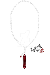 Red Moonstone Necklace Adopt (closed) by Rhapsodize-Adopts