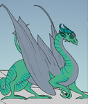 Laura Lumley's Dragon Form by SassyWritter