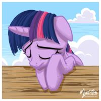 Sad Twilight Sparkle v.1.0 by mysticalpha