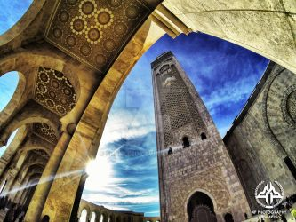 Hassane mosque Casablanca by shaheeed