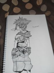 Sora Drawing by Missyoober