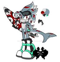 Great White Adopt (CLOSED) by AoiFoxtrot