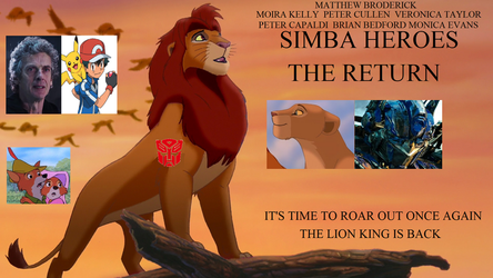 Simba Heroes: The Return Poster (for MLGpro666) by BASEDCUBE95