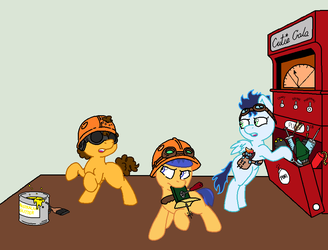 We're just playing by Brony-Commentator