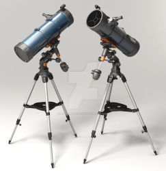 Julian-Phillips Celestron-Astromaster-Telescope by mediaartsdallas