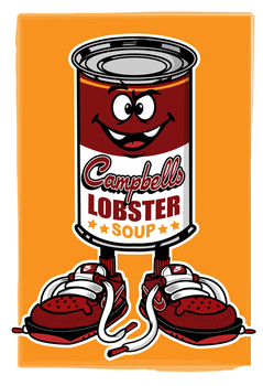 campbell soup by createink