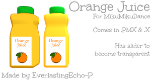Orange Juice For MMD by PoTatterTot