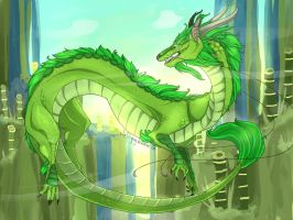 _Flight Rising Contest: Lyra by Colorful-Gray