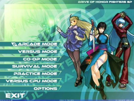 DoHF SP - Drive of Honor Fighters Screen Pack by Zinesis