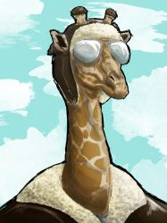 Giraffe Pilot by Royalty-Doc
