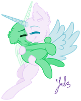 == Yayyy let's scape from school - MLP Base #9 == by Bubblegunns