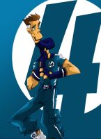 Reed Richards by Rohane