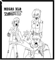 Megas Zombies by grimphantom