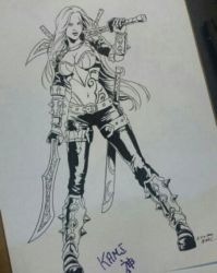 Katarina League of Legends by kewber