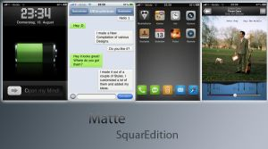iPhone Matte SquarEdition 1.1 by Square-252