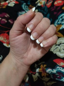 french tip by elysianbloodyfields