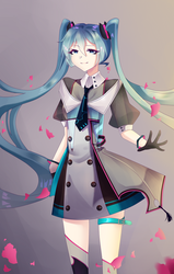 miku ONCE MORE by LuckyRubbit