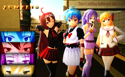 2nd MMD MOMI Cup YandereJumping (2nd Place winner) by RaikuHoshigami