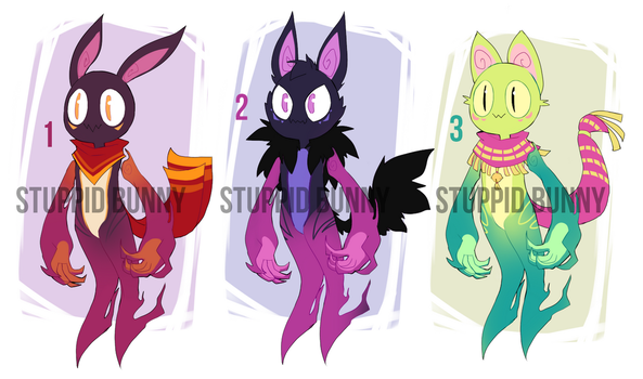 Adoptables OPEN (Paypal and Points) by Taikoubou-Metal