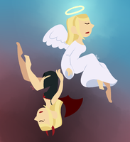 23: Angel and Demon by SariSpy56