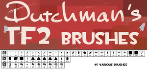 Dutchman's TF2 Brushes by Createvi