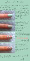 Nail art : Roses by MaxenceL