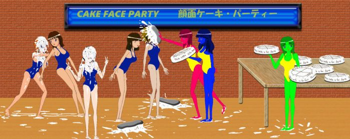 cake face party by sg19001
