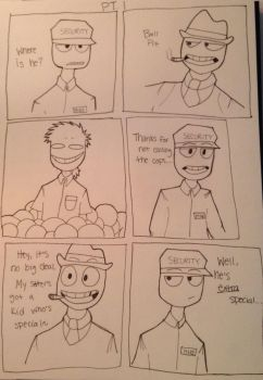 Fnaf Comic 10 Part 1 by Mike-love-Smidcht