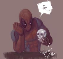 Deadpool by bloodcult