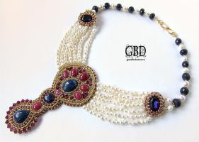 my best indian necklace by gbdreams