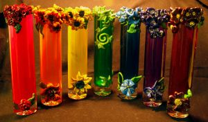 Rainbow Vases by El-Sharra