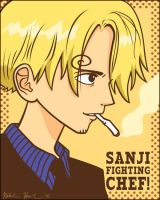 Sanji from One Piece by sfkforshort