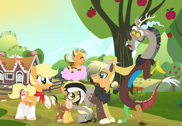 The Applecord Family by SuperRosey16