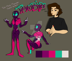 Spidersona  - Phobia by Two-Mind-Monster