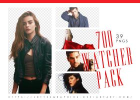 700 Watchers Model PNG Pack by lottesgraphics