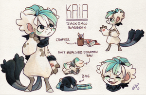 Kaia Ref. Sheet [T] by Baraayas