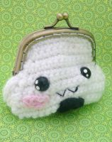 onigiri coin purse by e1fy