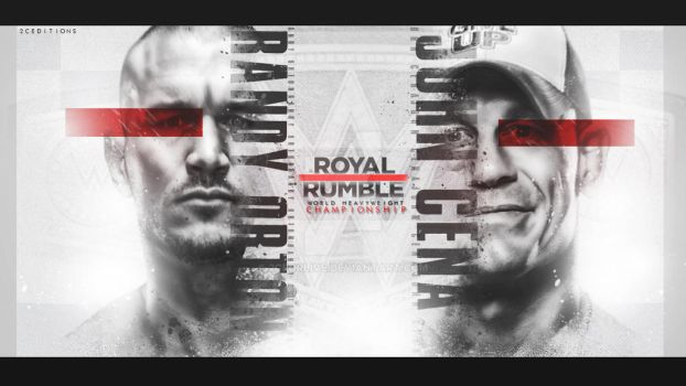 Royal Rumble Custom Card by 2CForlive