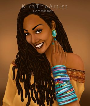 Kia Myles Commission by KiraTheArtist