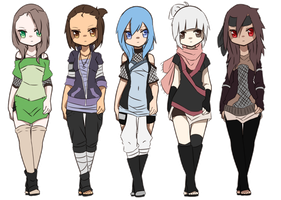 Naruto Adoptables Batch 2 by Y-uno