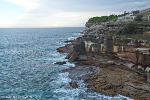 Waverley Cemetery Cliff by tawunap159