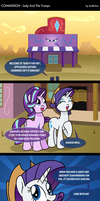COM - Lady And The Tramps (COMIC) by LadyAniDraws