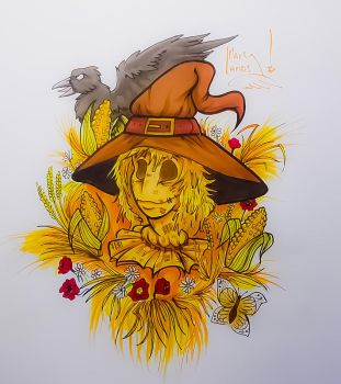 Scarecrow by MarylandsDrawing2525