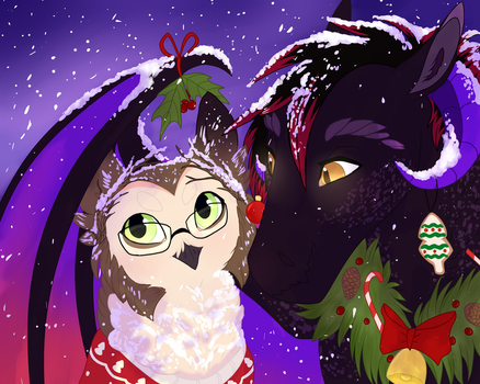 Christmas buns by Silcy