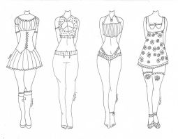 Poppy~ (Outfit Designs) by Lovepiko