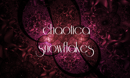 Tutorial - Chaotica Snowflakes by fractalling